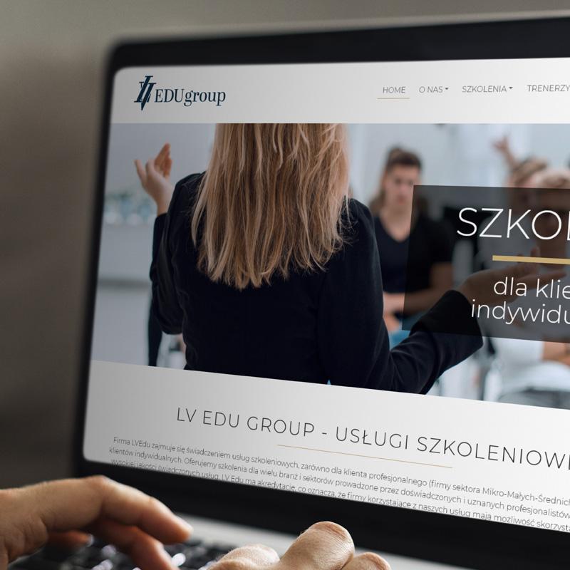 Strona internetowa – www.lvedu.pl