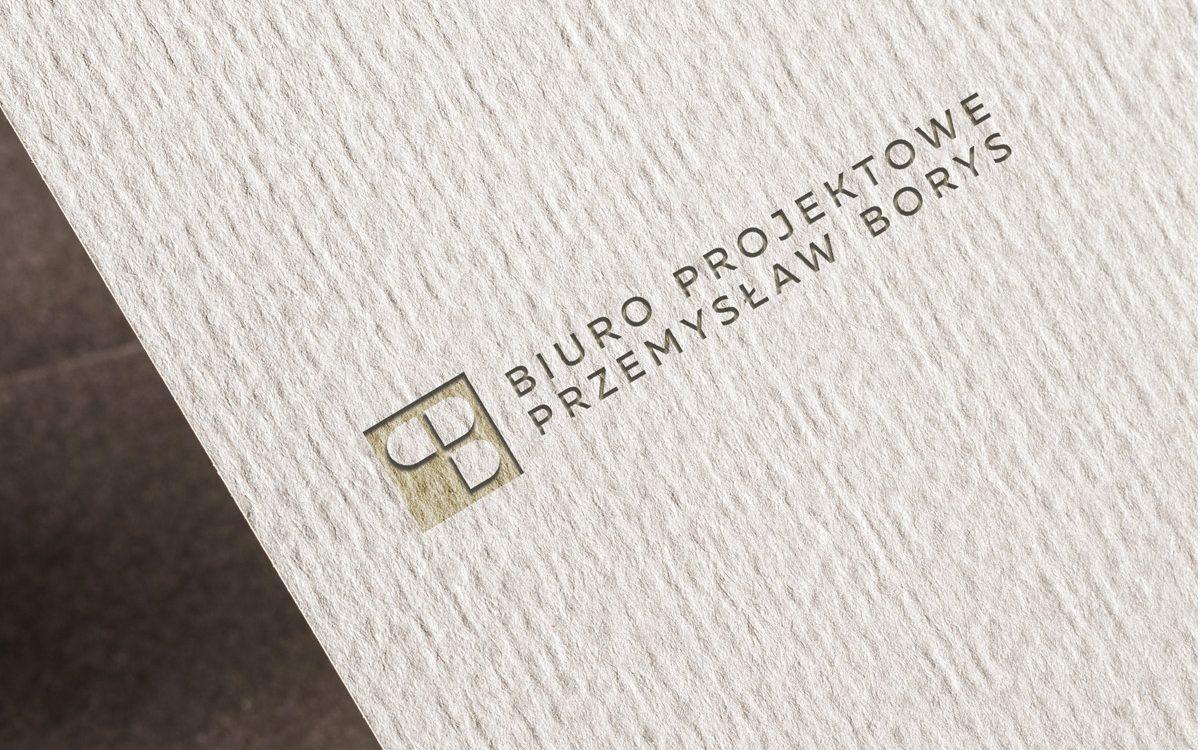 Projekt logo - Biuro Projektowe Przemysław Borys - Clouds Agencja Reklamowa Białystok