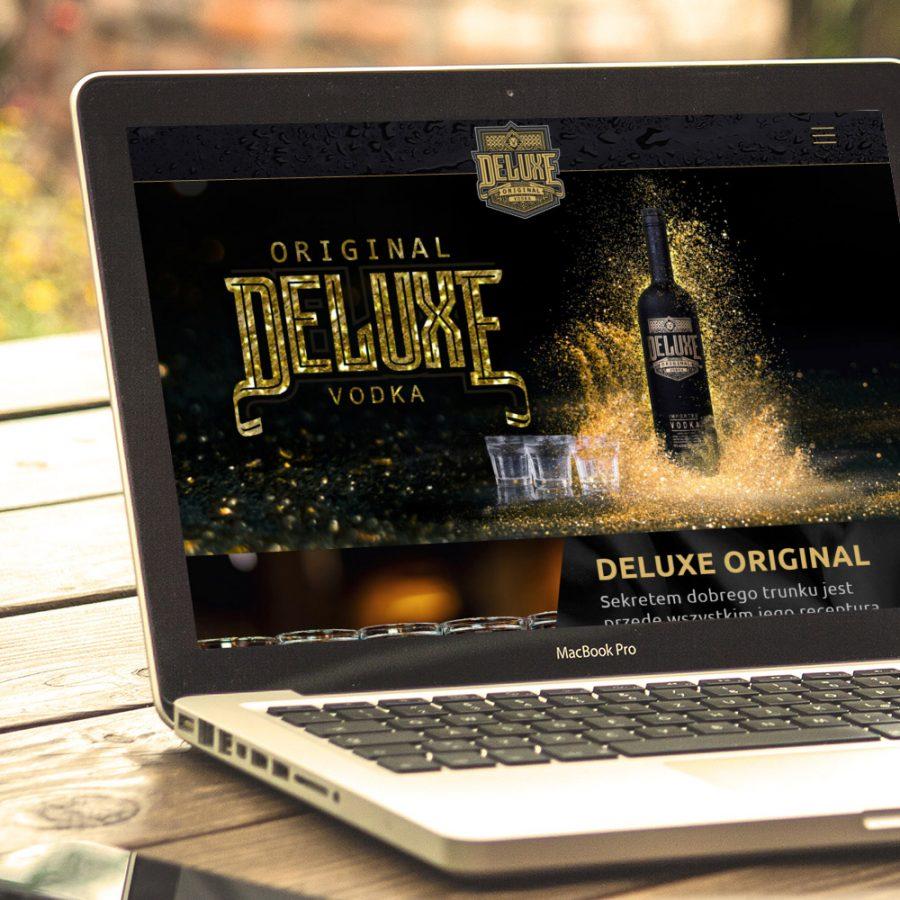 Strona www i sklep internetowy – www.deluxe-original.com