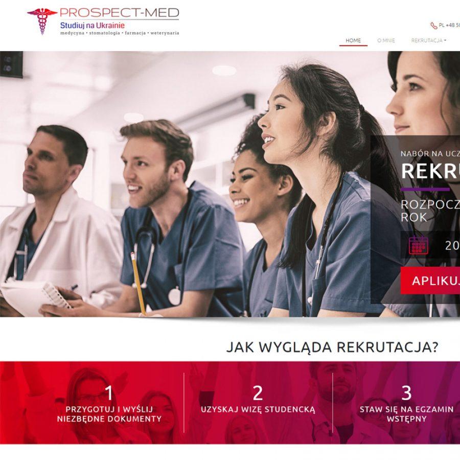 Strona internetowa – www.medycyna-ukraina.pl