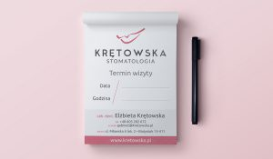 Projekt terminarza wizyt stomatologicznych - Białystok