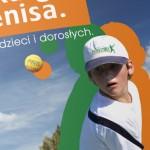 Centrum Tenisowe Zwierzyniec - Projekt folderu - Białystok - Warszawa