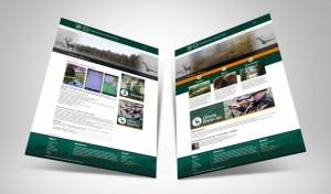 Responsywne strony internetowe - Projekt strony www - Nadleśnictwo Głeboki Bród