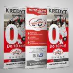Rollup Białystok - Moto-Agro | Druk i projekt