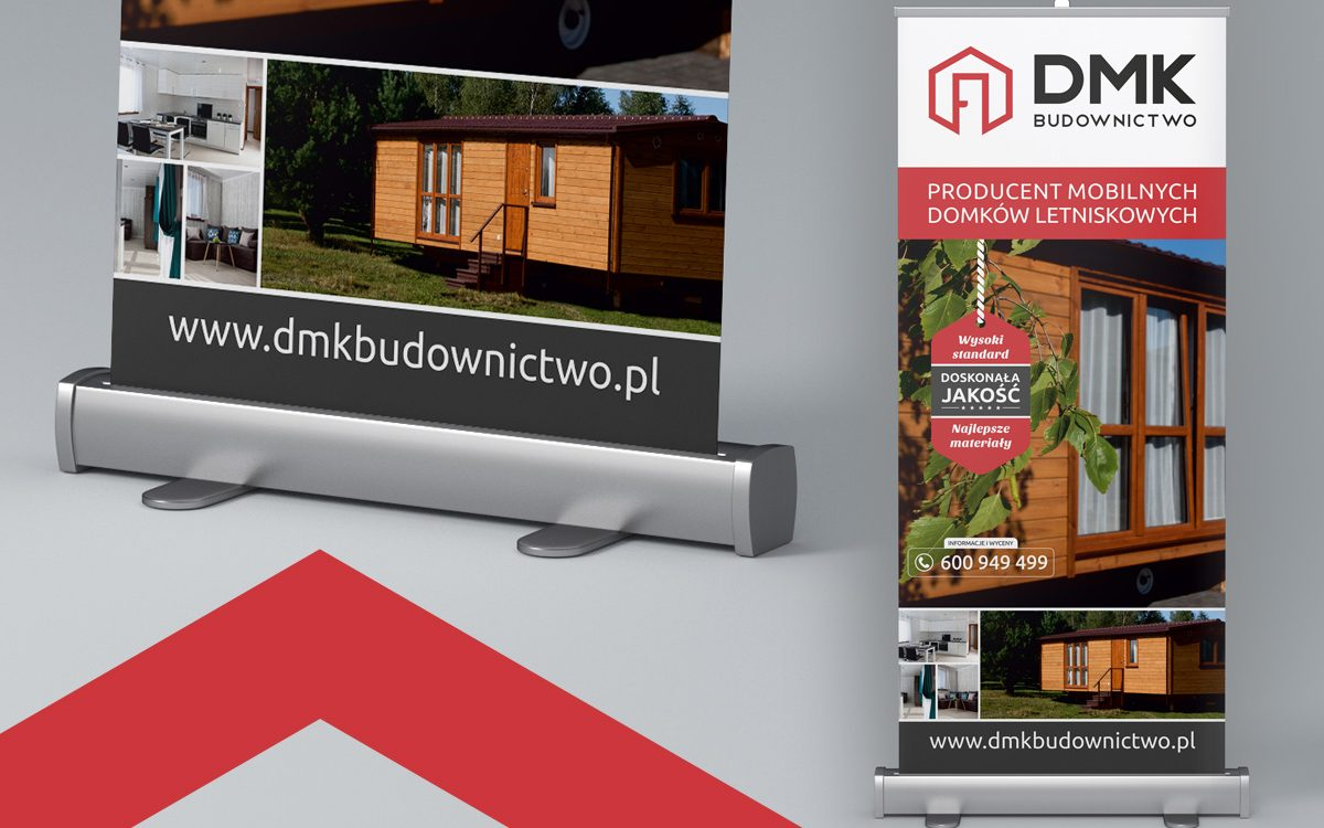 Rollup - Projekt, druk Białystok - DMK Budownictwo