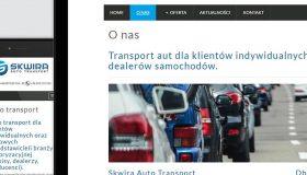 Strona internetowa – www.skwira-transport.pl