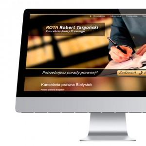 Strona internetowa - Radca Prawny ROTA Robert Targoński | Białystok