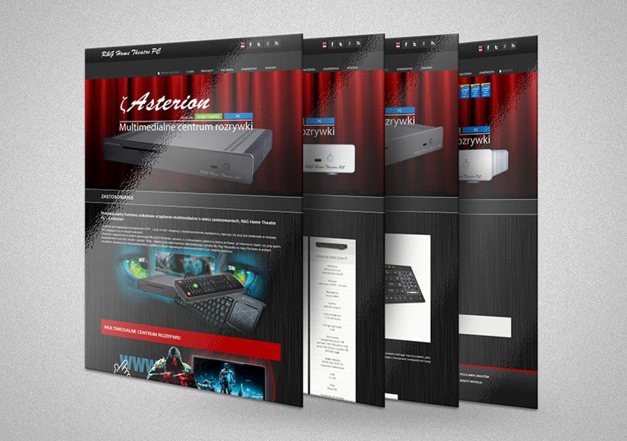 Projekt i wykonanie strony internetowej www.rgtrading.eu