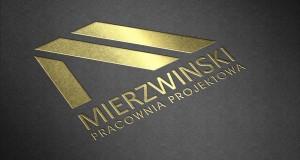 Mierzwiński Pracownia projektowa - Projekt logo - Białystok - Warszawa