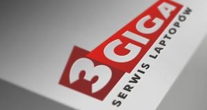 3Giga Serwis laptopów - Projekt logo - Białystok