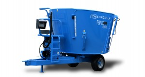 Wizualizacje projektu logo - Wóz paszowy Rino
